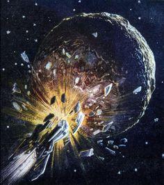 lucien rudaux space art– Google Поиск Rainy Sunday, Our Solar System, Art Google, Science Fiction, World, Futurism, Planet Earth, Painting, Life