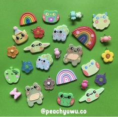 Cute Polymer Clay, Cute Clay, Polymer Clay Miniatures, Fimo Clay, Polymer Clay Charms, Ceramic Clay, Clay Art Projects, Clay Crafts, Clay Earrings