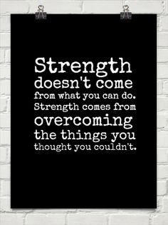 Inspiration to achieve
