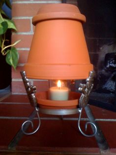 Heater from a Candle…I'm not impressed – In the Still Morning Air Terra Cotta Heater, Candle Heater, Diy Heater, Licht Box, Winter Hacks, Clay Pot Crafts, Clay Pots, Ceramic Pots, Terracotta Pots