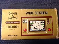 Parachute Game and Watch Nintendo