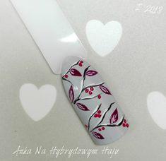 #paznokcie #manicure #hybrydy  #pazurki  #AnkaNaHybrydowymHaju #Nails   #Nailart #wzorek #wzorki #zdobienia Manicure, Winter Nails, Nails Design, Nailart, Art, Nail Bar, Nails, Nail Polish, Manicures