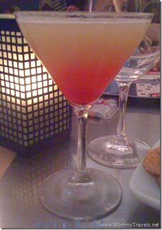 Pineapple Upside Down Martini 1 oz vanilla vodka 2 oz pineapple juice 1 dash grenadine syrup  Shake pineapple juice and vanilla vodka with ice in a tumbler. Pour into a martini cocktail glass. Add dash of grenadine, and serve.   Read more: Pineapple Upside-Down Cake Martini recipe http://www.drinksmixer.com/drink12303.html#ixzz2WD73T2hb