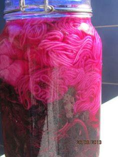 Dyeing with Amaranth