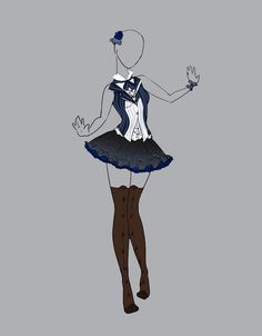 .::Outfit Adopt 6(CLOSED)::. by Scarlett-Knight.deviantart.com on @deviantART