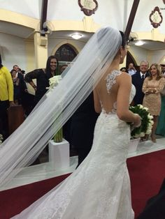 Noiva Débora com Vestido de Noiva Geraldo Couto Atelier