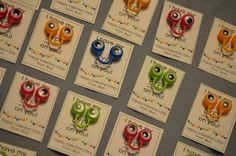 """Valentine's for kids. Googly eye rings """"I've got my eyes on you"""" - eyes bought at Target in the party section"""