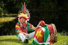 Indian men Suriname