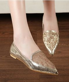 Awesome Hollow Pointy Toe Women Flats on BuyTrends.com, only price $13.89