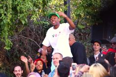 Tyler the Creator goes crazy for Pusha T at SXSW 2014