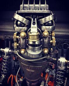 Robot by ferrerini mechanical art