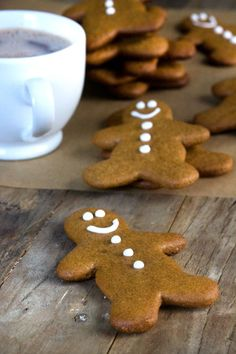 Gluten Free Gingerbread Men Cookies - Gluten Free on a Shoestring