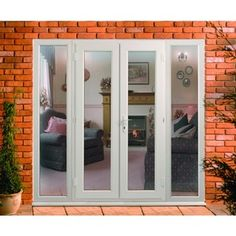 On the side door with window and french doors on pinterest for Door viewer wickes