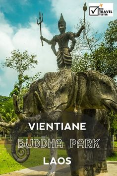 """Buddha Park Vientiane 