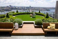 Roof Garden - http://www.designrulz.com