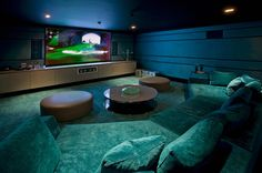 Home Theater Basement Remodeling Ideas
