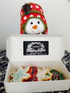 Galletas con glasé de limón y Royal icing motivos navideños!!