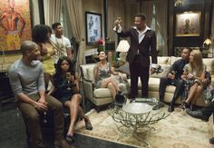Do you love the look from the show Empire. Here's a close up look and design lesson from the interiors of Empire TV show. Serie Empire, Empire Cast, Empire Fox, Empire News, Lucious Lyon, Black Stereotypes, Empire Season, Hip Hop, Tv Ratings