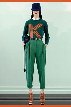 Collections - KENZO Women Pre-Fall 2012 fashion show collection