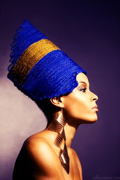 Nefertiti  http://NayMarie.com/photography/blackpride African Photo Art