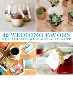42 Wedding Favors Your Guests Will Actually Want