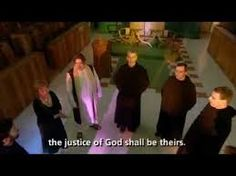 "Noirin Ni Riain and the Monks from Glenstal Abbey in Ireland sing ""The Beatitudes"""