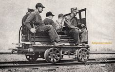 Railroad Freight Cars | Fairbanks S-2 Yard Motor Car - Pennsylvania Railroad Photographs