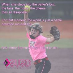 I still remember when came to me and said if you want to win tomorrow let me pitch YES! Fastpitch Softball, Softball Players, Softball Mom, Softball Things, Softball Stuff, Volleyball, Softball Decorations, Softball Pitcher, Baseball Videos