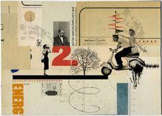 http://lespapierscolles.wordpress.com/2013/06/26/kacper-kiec/  Kacper Kiec collages illustration graphisme art
