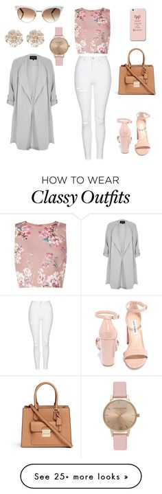 """""""Chic and Classy"""" by nicetrends on Polyvore featuring Topshop, Miss Selfridge, Steve Madden, Michael Kors, Gucci and River Island"""