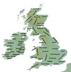 The inhabitants of ancient Ireland and Britain were a patchwork of tribes with shared language and culture.
