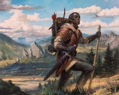Men of Color In Fantasy Art : Photo