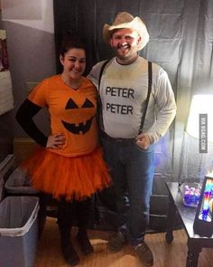 They wore my favorite costume I've seen this year...