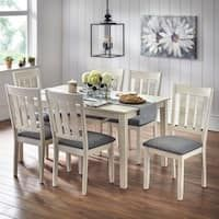 Our Best Dining Room & Bar Furniture Deals Round Dining Set, Solid Wood Dining Set, 7 Piece Dining Set, Best Dining, Small Dining, Dining Sets, Small Rectangle Dining Table, Bar Furniture, Furniture Deals