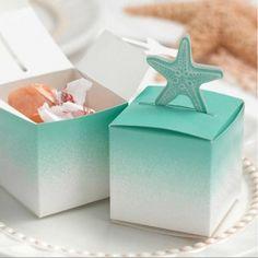 La boîte à dragées pop up étoile de mer