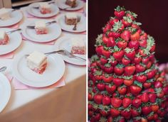 Check this site out and see the beautiful strawberry creation my friend Julie B made!!! Beautiful wedding.
