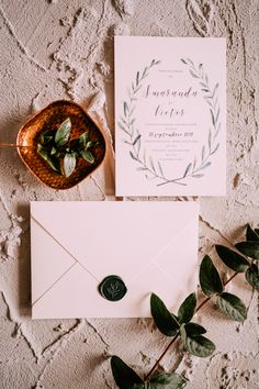 Glimps of Greenery Wedding Invitation Stationery Design, Wedding Stationery, Wedding Invitations, Event Design, Wedding Designs, Greenery, Wedding Inspiration, Place Card Holders, Engagement