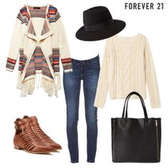 Where would you rock this look? #OOTD #Leather #Fringe            Everything except the shoes. I have brown booties that would look better.