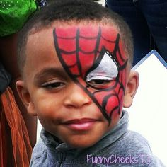 Face Painting #fall harvest #festival #spiderman