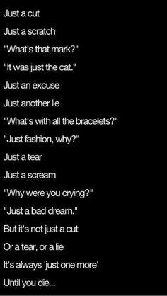 8 Best Self Harm Stuff Images Depressing Quotes Depression