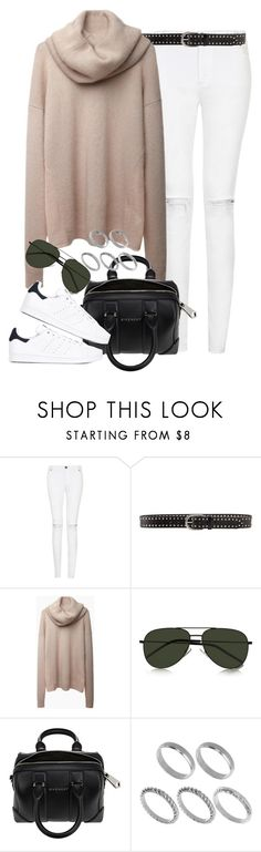 """Sem título #1231"" by oh-its-anna ❤ liked on Polyvore featuring Linea Pelle, Acne Studios, Yves Saint Laurent, Givenchy, ASOS and adidas"