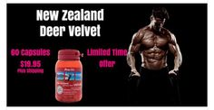 Ive read great reviews on this and there's a Great limited time offer!  New Zealand Deer Velvet  https://www.facebook.com/buynzdirect/