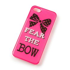 Fear the Bow Cover for iPhone 5 and 5s | Claire's @Harmony Yerkes