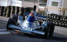 Emerson Fittipaldi guia o carro de Fórmula 1 da Copersucar em 1976 (Foto: Reprodução)