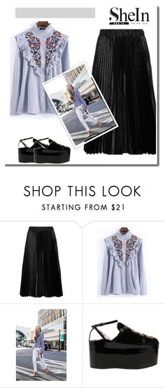 """City style"" by todosobrefashion ❤ liked on Polyvore featuring Comme des Garçons GIRL, WithChic and Gucci"