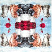 Servítka - Mačičky