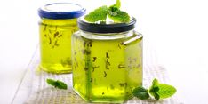 Mint Jelly, Mason Jars, Planter Pots, Tableware, Recipes, Blog, Dinnerware, Tablewares