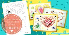CALENDARIO Y CREATIVIDAD INFANTIL - FEBRERO-MAMAYNENE BLOG