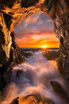Sonnenuntergang. Dies ist ein schone farbefrohe weidergabe von kunstwerken.