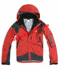 North Face Sample Sales Triclimate Red Jackets